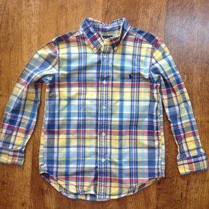 Little boys Button Up shirt By Ralph Lauren